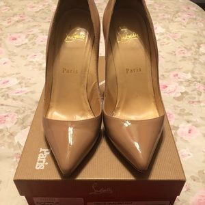 """Christian Louboutin Pigalle 100-100MM 4"""" inches"""